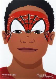 kindergrime spiderman