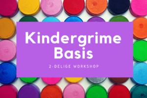 Kindergrime basisworkshop