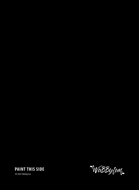 Oefenbord zwart